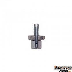VIS TENDEUR DE CABLE EMBRAYAGE ORIGINE GILERA 50 SMT, RCR 2006-, APRILIA 50 RX,SX 2006-2013 (M6  L27mm)  -00F00920551-