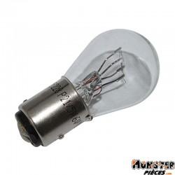 AMPOULE-LAMPE  6V 21-5W NORME P21-5W CULOT BAY15D BLANC (FEU POSITION + STOP) (VENDU A L'UNITE)  -FLOSSER-