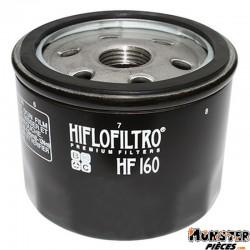 FILTRE A HUILE MOTO HIFLOFILTRO POUR BMW F 650 GS, F 800 GS, K 1200 RS, K 1300 R, S 1000 RR-HUSQVARNA 900 NUDA (76x62mm) (HF160)