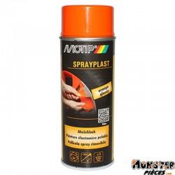 BOMBE DE PEINTURE MOTIP SPRAYPLAST ORANGE BRILLANT spray 400ml (396564)