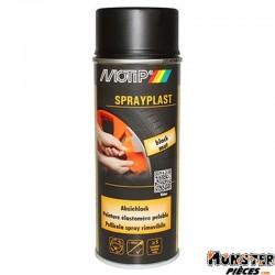 BOMBE DE PEINTURE MOTIP SPRAYPLAST NOIR MAT spray 400ml (396519)
