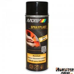 BOMBE DE PEINTURE MOTIP SPRAYPLAST NOIR BRILLANT spray 400ml (396526)