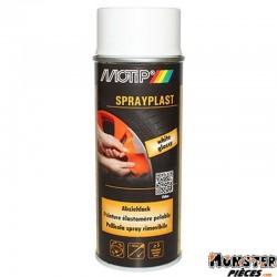 BOMBE DE PEINTURE MOTIP SPRAYPLAST BLANC BRILLANT spray 400ml (396533)