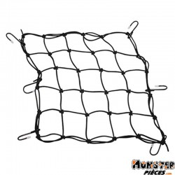 SANDOW MOTO CARGO FILET 380x380mm AVEC 6 CROCHETS METAL (SANDOW � 4mm)  -SELECTION P2R-