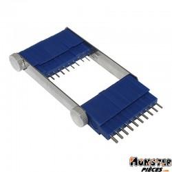 OUTIL NETTOYAGE GICLEUR 0,45mm � 1,5mm (20 PIECES)  -P2R-
