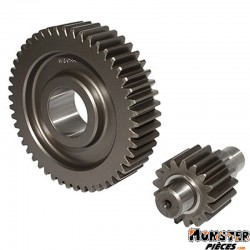 TRANSMISSION MAXISCOOTER MALOSSI POUR PIAGGIO 125 BEVERLY, 125 CARNABY, 125 VESPA GTS-APRILIA 125 SCARABEO, 125 SPORT-CITY, 125