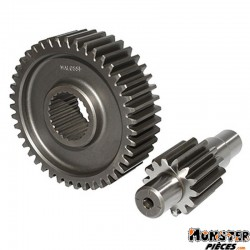 TRANSMISSION MAXISCOOTER MALOSSI POUR YAMAHA 125 XMAX 2008>, 125 X-CITY 2006>-MBK 125 SKYLINER 2008>, 125 CITYLINER 2006> (14-43