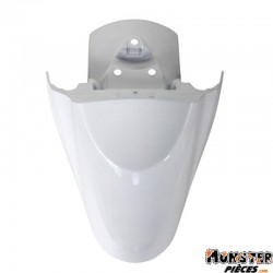 GARDE BOUE SCOOT AV ADAPTABLE MBK 50 OVETTO 2008>-YAMAHA 50 NEOS 2008> BLANC BRILLANT