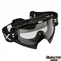 LUNETTE-MASQUE CROSS ADX MX NOIR ECRAN TRANSPARENT ANTI-RAYURES