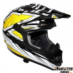 CASQUE CROSS ADX MX2 BLAZE JAUNE L