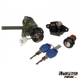 CONTACTEUR A CLE MAXISCOOTER ADAPTABLE APRILIA 125-250 SPORT CITY 2004>2008 -SELECTION P2R-