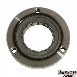 ROUE LIBRE DE DEMARREUR MAXISCOOTER ADAPTABLE HONDA 125 DYLAN, 125 PANTHEON, 125 PS, 125 NES @, 125 SH, 15 SILVER WING  -TOP PER