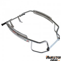 PROTECTION AILE MAXISCOOTER ARRIERE POUR PIAGGIO 125 VESPA PX CHROME  -FACO-