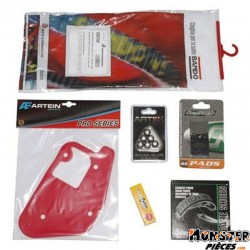KIT ENTRETIEN SCOOT ADAPTABLE MBK 50 BOOSTER 2004>-YAMAHA 50 BWS 2004>  -P2R-