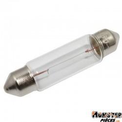 AMPOULE-LAMPE 12V  5W NORME C5W CULOT SV8,5-8 NAVETTE STANDARD BLANC (FEU ARRIERE+STOP) (VENDU A L'UNITE)  -OSRAM-