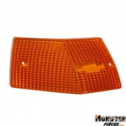 CABOCHON CLIGNOTANT MAXISCOOTER ADAPTABLE PIAGGIO 125 VESPA PX 2001> ORANGE AR GAUCHE (HOMOLOGUE CE)  -SELECTION P2R-