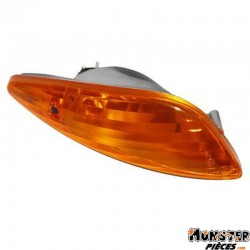 CLIGNOTANT MAXISCOOTER ADAPTABLE PEUGEOT 125-50 ELYSEO 2001> ORANGE AR GAUCHE (HOMOLOGUE CE)  -SELECTION P2R-