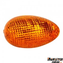 CABOCHON CLIGNOTANT SCOOT ADAPTABLE KYMCO 50 PEOPLE 2000>2004, 125 PEOPLE 1999>2000 ORANGE AV DROIT  (HOMOLOGUE CE)  -SELECTION