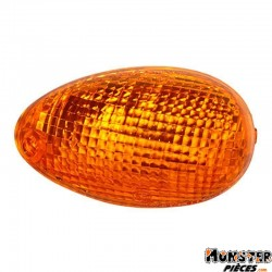 CABOCHON CLIGNOTANT SCOOT ADAPTABLE KYMCO 50 PEOPLE 2000>2004, 125 PEOPLE 1999>2000 ORANGE AV GAUCHE (HOMOLOGUE CE)  -SELECTION