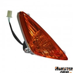 CLIGNOTANT MAXISCOOTER ADAPTABLE HONDA 125 SH 2001>2002 ORANGE AV DROIT (HOMOLOGUE CE)  -SELECTION P2R-
