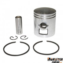 PISTON CYCLO ADAPTABLE PEUGEOT 103 AIR (6 TRANSFERTS)  -SELECTION P2R-