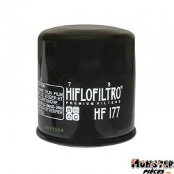 FILTRE A HUILE MOTO HIFLOFILTRO POUR BUELL 900 FIREBOLT, 1200 FIREBOLT, 1200 LIGHTNING (65x73mm) (HF177)