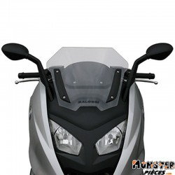 PARE BRISE MAXISCOOTER POUR BMW 600 SPORT 2012> (SHORT- CLEAR)  -MALOSSI-