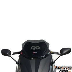 PARE BRISE MAXISCOOTER POUR YAMAHA 530 TMAX 2012> (COURT FUME)  -FACO-