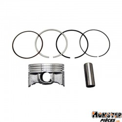 PISTON MAXISCOOTER AIRSAL POUR YAMAHA 125 XMAX 2008>, X CITY 2008>, YZF R-MBK 125 SKYCRUISER 2008>, CITY LINER 2008>