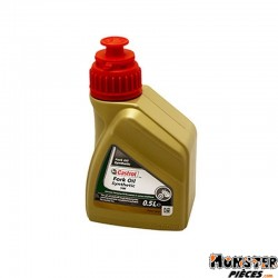 HUILE DE FOURCHE-SUSPENSION CASTROL  5W SYNTHETIC FORK OIL  (500 ml)   100% SYNTHETIQUE