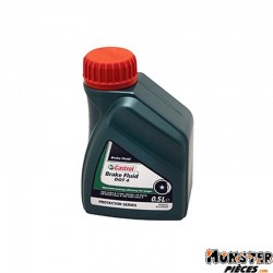 LIQUIDE DE FREIN CASTROL DOT 4 BRAKE FLUID  (500 ml)  100% SYNTHETIQUE