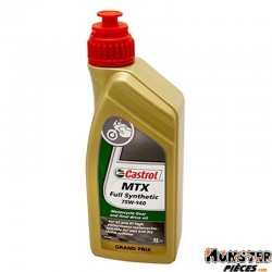 HUILE DE TRANSMISSION CASTROL 75W-140 MTX FULL SYNTHETIC  (1 L)  100% SYNTHETIQUE
