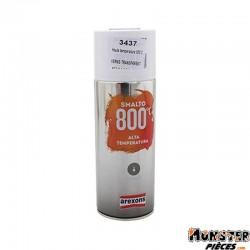 BOMBE DE PEINTURE AREXONS PRO HAUTE TEMPERATURE 800ᄚC VERNIS TRANSPARENT spray 400ml (3437)