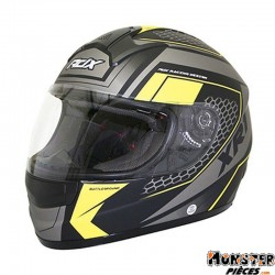 CASQUE INTEGRAL ADX XR1 BATTLEGROUND NOIR-JAUNE FLUO MAT XL