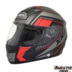 CASQUE INTEGRAL ADX XR1 BATTLEGROUND NOIR-ROUGE MAT XXL
