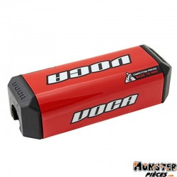 MOUSSE DE GUIDON MOTOCROSS VOCA HB28 ROUGE
