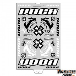 AUTOCOLLANT-STICKER VOCA RACE-SQUAD (PANCHE 45x35cm - 28 STICKERS)