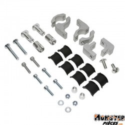 KIT FIXATION PROTEGE MAIN POLISPORT VERSION FERME SHIELD-TOUQUET-BAJA ALU