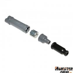 DEDOUBLEUR CABLE DE GAZ-POMPE A HUILE (DIAM 6,8mm) (COURSE 36mm)  -DOMINO ORIGINE-