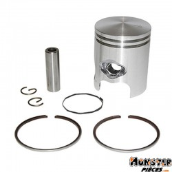PISTON SCOOT ADAPTABLE CPI 50 POPCORN, OLIVER, ARAGON -KEEWAY 50 FOCUS, HURRICANE -GENERIC 50 XOR (AXE DE 10mm - 2 SEGMENTS 1,5m