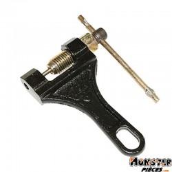 DERIVE CHAINE MOTO P2R DIAM POINTEAU 3,6mm NOIR