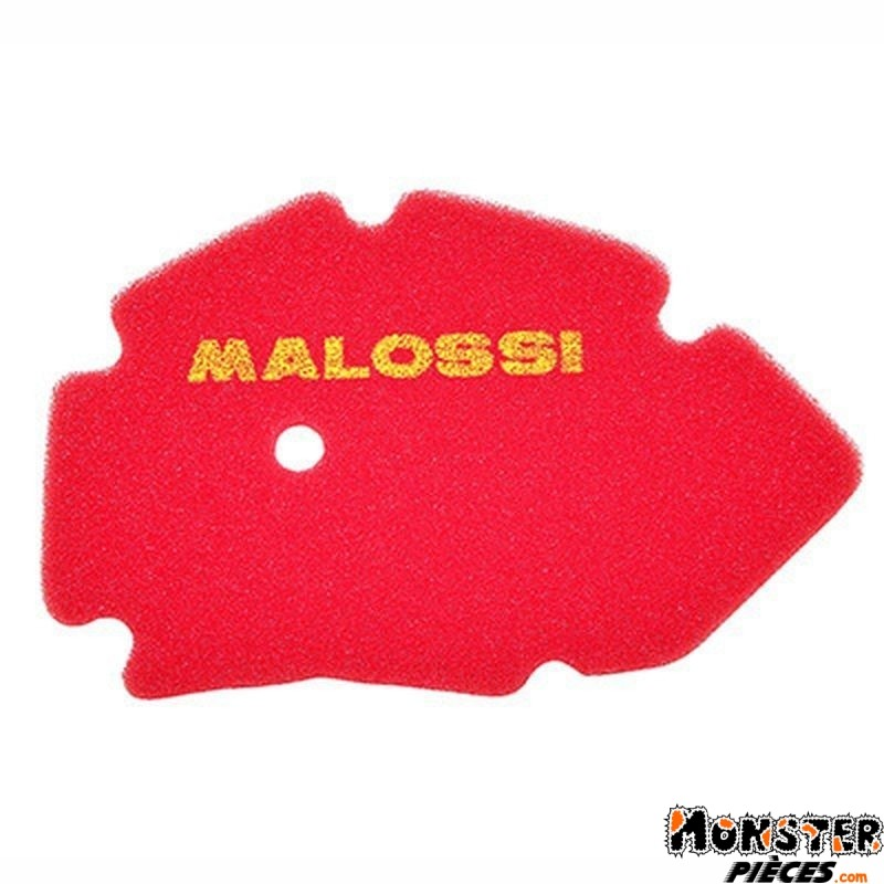 MOUSSE FILTRE A AIR MAXISCOOTER MALOSSI POUR GILERA RUNNER 2T 2002>2004, DNA 2000>2004  ROUGE