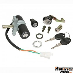 CONTACTEUR A CLE SCOOT ADAPTABLE APRILIA 50 SCARABEO DITECH 2001>2004  -SELECTION P2R-