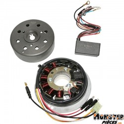 ALLUMAGE SCOOT KRD ANALOGIQUE ROTOR EXTERNE POUR MBK 50 BOOSTER 2004>, STUNT 2004>-YAMAHA 50 BWS 2004>, SLIDER 2004> (CATALYSE)
