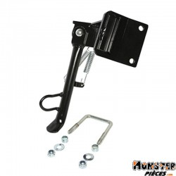 BEQUILLE SCOOT LATERALE ADAPTABLE MBK 50 OVETTO 2T ET 4T 2008>-YAMAHA 50 NEOS 2T ET 4T 2008> NOIR  -SELECTION P2R-