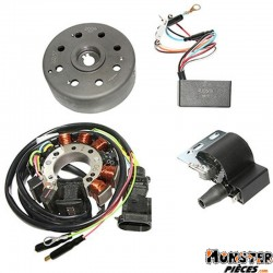 ALLUMAGE SCOOT KRD ANALOGIQUE ROTOR EXTERNE POUR PIAGGIO 50 TYPHOON, NRG, ZIP, FLY, LIBERTY, VESPA LX