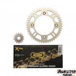 KIT CHAINE ADAPTABLE KTM 85 SX  428  14x49  -AFAM-