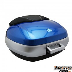 KIT TOP-CASE MAXISCOOTER ORIGINE PIAGGIO MP3 300-500 SPORT BLEU LAGON 261-A (50L)  -CM261504-