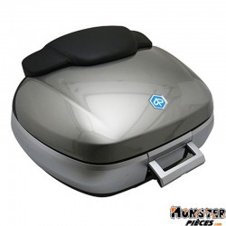 KIT TOP-CASE MAXISCOOTER ORIGINE PIAGGIO X10 125-350 GRIS ORION 713-B (50L)  -67614900EV-