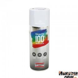 BOMBE DE PEINTURE AREXONS ACRYLIQUE BLANC MAT spray 400 ml (3651)